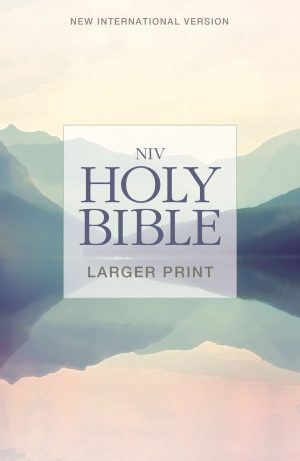 Holy Bible NIV Large Print