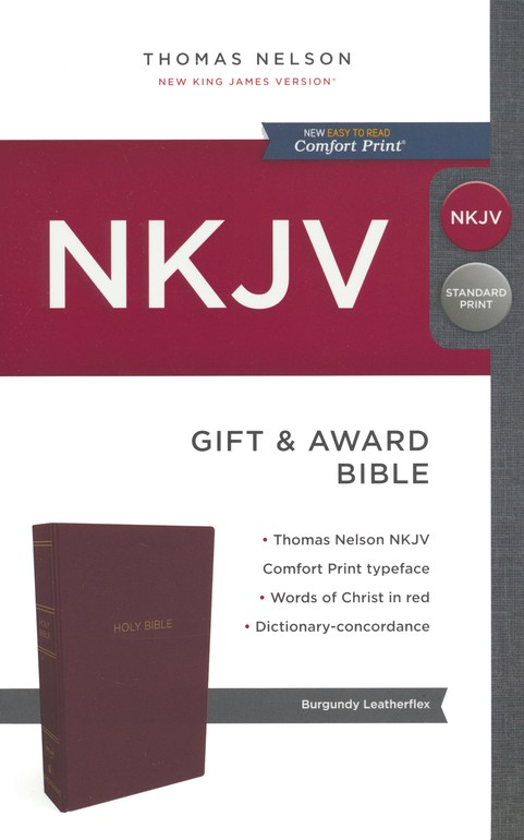 Holy Bible NKJV red
