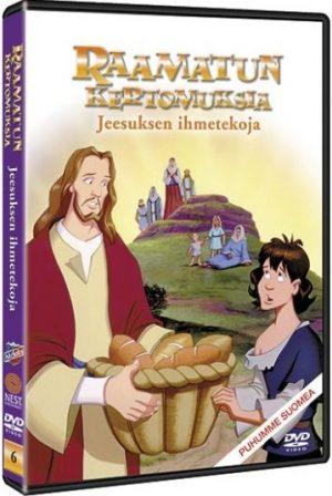 Jeesuksen ihmetekoja DVD